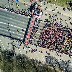 drones can learn to understand crowds