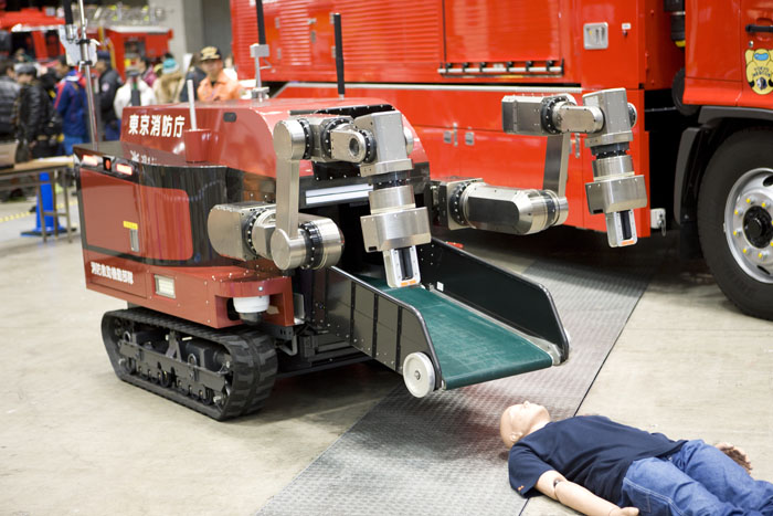 rescue robot for disaster response
