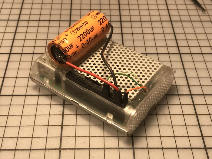 RPi &; BIG reservoir capacitor