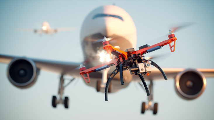 drone interference at airports