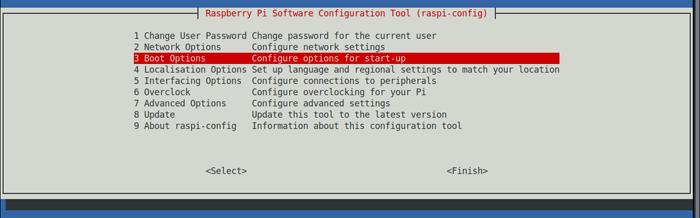 Boot to desktop step 1/3