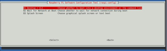 Boot to desktop step 2/3