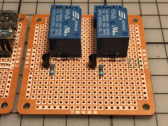 Cathode to positive relay terminal