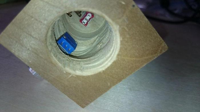 Arduino Pro Micro drill hole