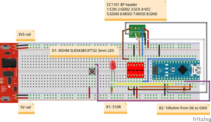 Arduino Garage Opener (Handheld)