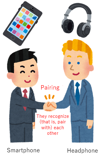 How the pairing works