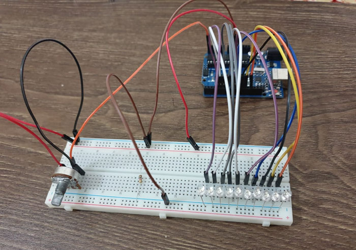 wiring to breadboard