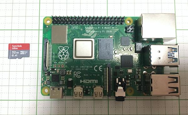 SD card and raspberry pi 4