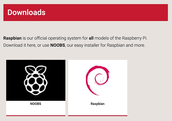 obtaining OS for raspberry pi4