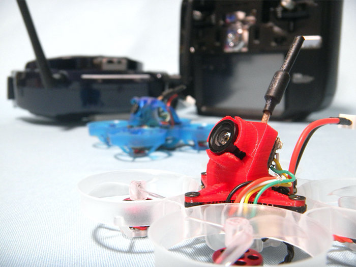 Hello, everyone. This is Mocchan. This is Part two of our series on tuning a compact micro drone that you can even fly indoors to create an airframe w
